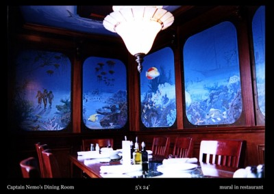 Captain Nemo's Dining Room