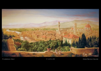 florence-italy-mural-in-home