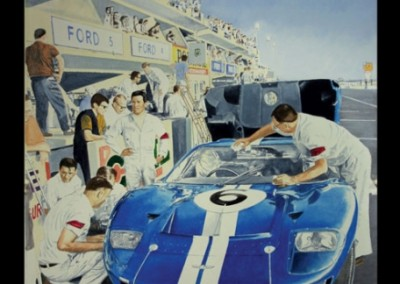 lemans-1966-gt-40-mural-in-private-collection