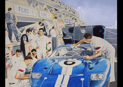 lemans-1966-ford-gt-40-mural-in-private-collection