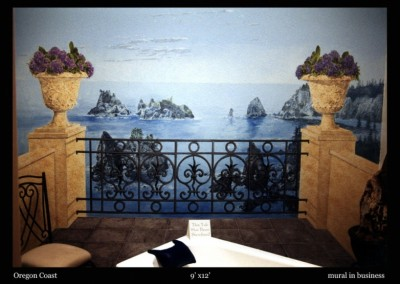 oregon-coast-mural-in-home