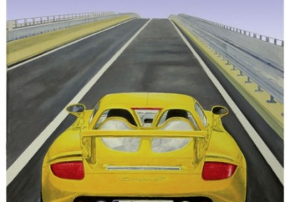 porsche-carerra-gt-mural-in-private-collection