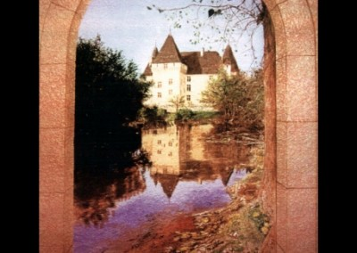 chateau-reflection-mural-in-home